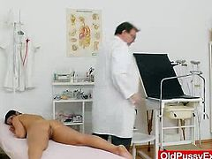 Have a look at Bertas picture set in which she got her lady pussy examined plus different stirring medical tools by the Doctor