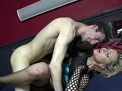 Slim beauty enjoys a fat dick to pound her juicy and puffy little vag