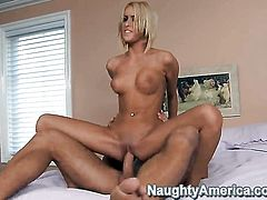 Breanne Benson has hardcore fun with hard dicked fuck buddy Danny Mountain