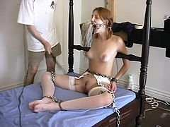 She is a real brave girl to agree for such an amazing BDSM story! She is apart of it now and the history of BDSM is being written through pain!