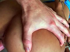 Nice screw with gorgeous busty chick Gulliana Alexis would make you feel so great! The amazing adorable cutie is stimusexy clitoris while dude bangs her sweet snatch.