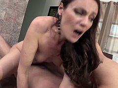 Horny new valet guy becomes the prey for slutty MILF's India and Samantha as they delay their Sunday brunch to fuck the newbie.