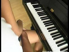 Student didn t want to learn much piano today