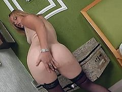 What a gorgeous and stunning sex doll Laura is! She gets naked and enjoys that huge dick in her mouth and in her pussy! Amazing!