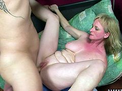 A cold shower can't cool off this mature woman! Sex-starved blonde with big tits has a huge sexual appetite and she needs at least two cocks to get maximum satisfaction. Check out this amazing sex video now and I'm kinda sure you will enjoy watching it.