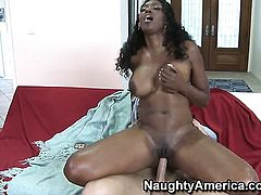 Nyomi Banxxx with round ass and smooth beaver has vigorous sex with hot bang buddy Danny Wylde