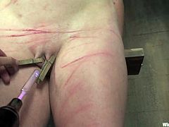 Wild Bondage and Fucked up Torture and Spanking in Lesbian BDSM