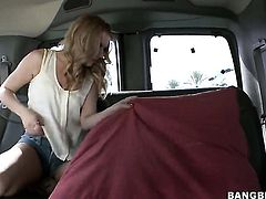Lexi Belle with bubbly booty spends her sexual energy with hard dicked dude