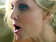 Voluptuous mom Julia Ann feels amazing having in her one large and tasty cock