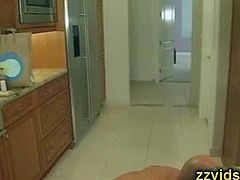 Dylan Ryder fucked in the kitchen