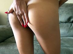 Lustful blondie Gulliana Alexis is the complete package. She has a pretty face, a nice round ass and a nice pair of small tits. Dirty-minded gal knows how to treat a dick. She sucks her boyfriend's cock with great enthusiasm paying special attention to his balls.
