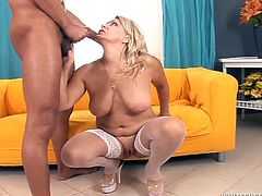 These experienced women demonstrate all their skills and talents. They suck dicks in POV scenes and also get their happy faces cum covered.