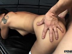 Skinny asian slut gets her sexy ass destroyed