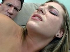 Babysitter Bailey Blue gets humped on the couch