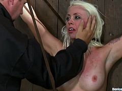 Blonde and brunette chicks have their best BDSM experience. In this video you will that girls get big amount of pleasure and pain.