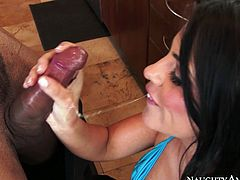 Watch this hot couple having in the office after all left in Mofos Network sex clips.