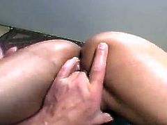There's fingering, cock sucking, a 69, cock riding and face sitting in this porn video with Chyanne Jacobs.