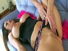 Courtesy of PornerBros HD you can see the alluring brunette temptress Sheila Marie as she gets her sweet tight ass busted deep and hard into anal ecstasy in this awesome free porn video.