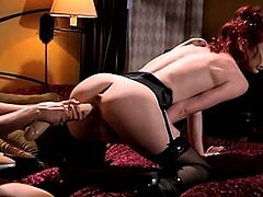 tera and justine play with dildo @ sex in dangerous places