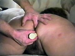 Check out this amateur video where this guy having her wet puss stuffed by this guy's hard cock as you hear her moan.