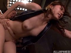 Sizzling Japanese girl Asami Ogawa favours her man with a blowjob and allows him to eat her pussy. Then they bang in the reverse cowgirl and other positions and Asami moans loudly with pleasure.