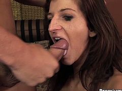 See the nasty brunette temptress Italia Christie flaunting her hot tits and amazing pussy while giving her man a hell of a pov blowjob in this hot hd video. Then the party gets much more interesting!