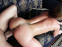 Sheena Shaw and Kris Slater have wild anal sex on camera for you to watch and enjoy