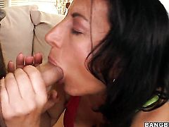 Melissa Monet gets cum soaked in wild cumshot scene
