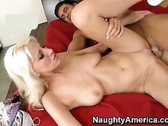 Rocco Reed enjoys incredibly hot Addison ORileys wet hole in steamy hardcore action