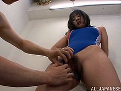 Tsubomi is a hot asian slut who never says no. I met her a few years ago and had the time of my life. She loved taunting me with her ass as she was rubbing it against my cock and it got me very hard so she got down on her knees and started sucking my dick like the little slut that she is.