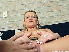 Her appetizing pussy spiced up with big clit is worthy of being seen. She tickles her pussy labia and thrusts fingers deep inside. Go for the hot and provocative Team Skeet sex movie.