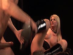 Courtesy of PornerBros HD you cans see the gorgeous Blonde goddess Lacie Heart as she gets banged deep and hard into kingdom come in this nasty free porn video.