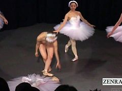 In order to amass sufficient funds for her dreams of ballet on the international circuit in Europe a Japanese ballerina wearing a masquerade mask takes part in a Japan nudist performance that entails her stripping out of her leotard in front of