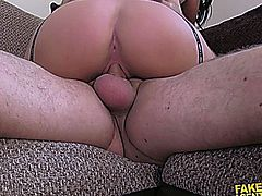 nicola kiss being fucked in a fake casting