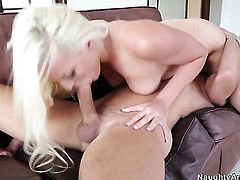 Mick Blue uses his erect rod to bring Asian to the height of pleasure