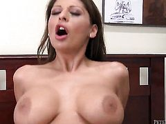 Alison Star is ready to spend hours with dudes fuck stick in her mouth