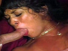 Lusty Jill Kelly with awesome body and Kim Kataine get on knees and suck huge meaty cock in pint of view until tanned stud sprays their faces with load of cum.