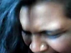 Indian Girl Suck Big Black Cock