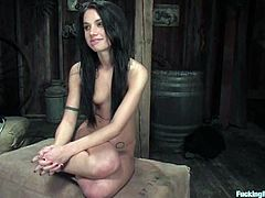 See the hot brunette Micah Moore getting her pussy fucked by a sex machine and a sybian in this solo video with lots of orgasms.