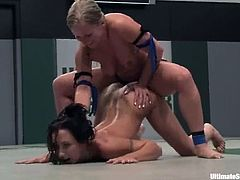 Wenona gets toyed rough by Dia Zerva after fighting