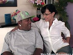 Busty milf lisa ann gets banged by a black stud