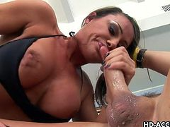 Sky Taylor gets the banging of her life as she sits on that supremely hard cock inside her wt pussy. This blonde slut will reveal you how she enjoys this hardcore session.