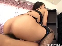 Hardcore POV is expecting you in this video! Japanese angel Koi Azumi will get that thick cock right in her mouth and then welcomes you in her hairy muff.