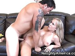 Dale Dabone enjoys incredibly sexy Jessica Moores wet hole in steamy hardcore action