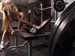 Check out the asshole fucking this gym whore is getting from another workout stud. Hot bodies, hot sex, it all looks real good