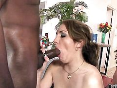Kiera King satisfies her sexual needs and desires with Jenners worm in her mouth before anal sex