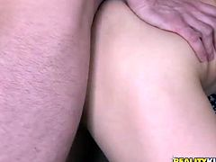 Watch this group sex involving two extremely horny and sexy blond babes getting their butthole fucked in Reality Kings sex clips.