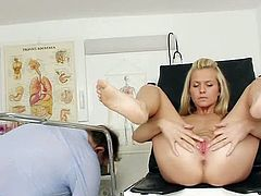 Bella Anne is quite horny as she feels amazing stimulation all over her tight holes