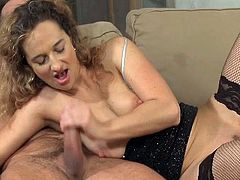 Watch this terrific compilation of blowjob scenes if you like milfs. Hot moms of all kinds demonstrate their great cock-sucking skills and moan sluttily with pleasure.