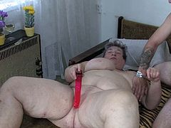 Watch these super horny old people having fun in the bedroom playing with each other all naked and in one bed in Old Nanny sex clips.